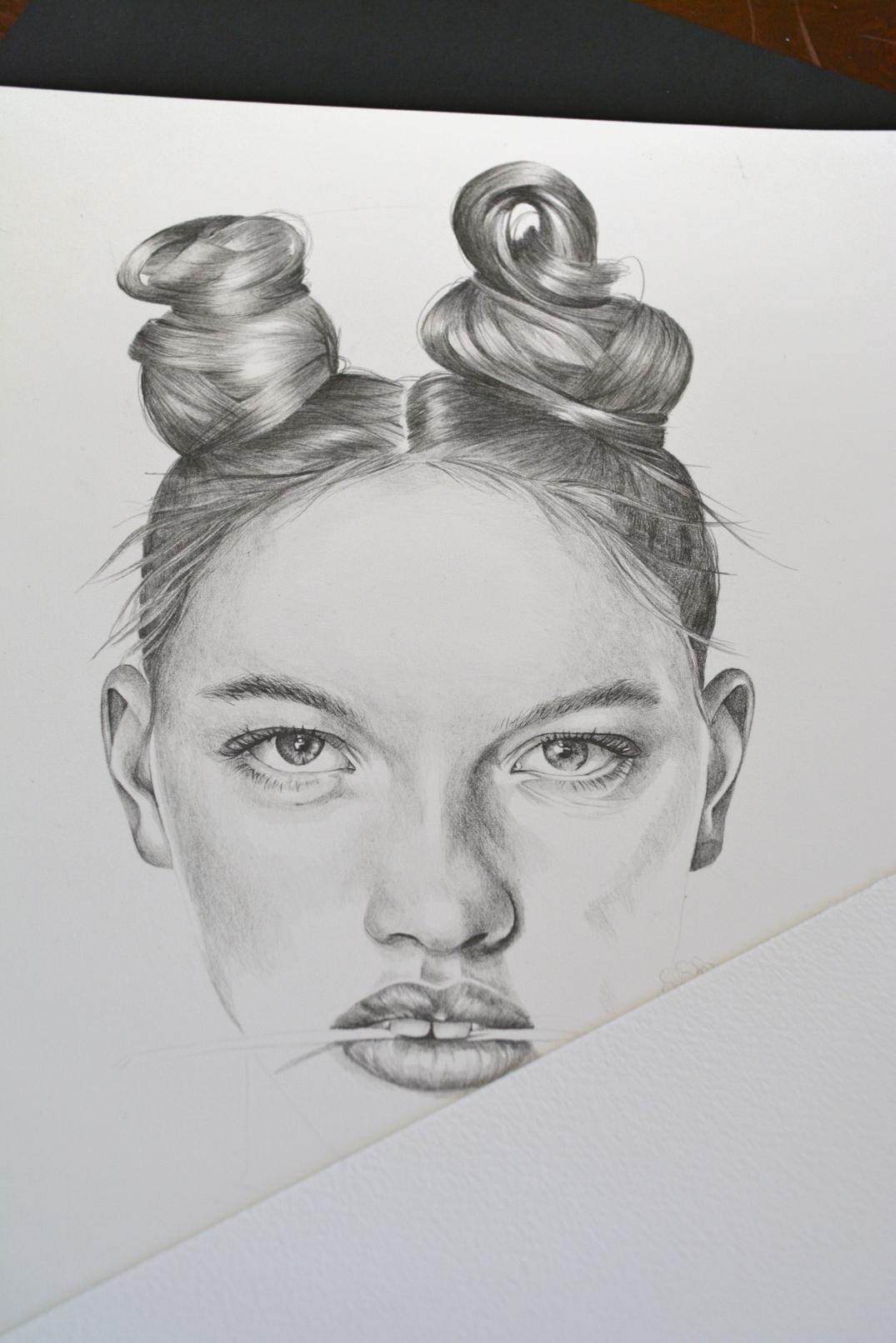 Star sign illustration - Capricorn work in progress