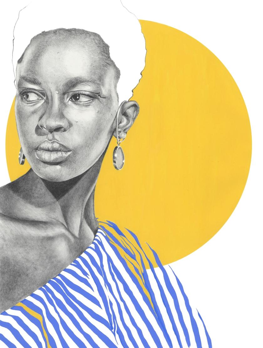 Fashion illustration - Eudon Choi Spring 2018