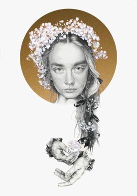 Fashion illustration Rodarte Sprint 2018