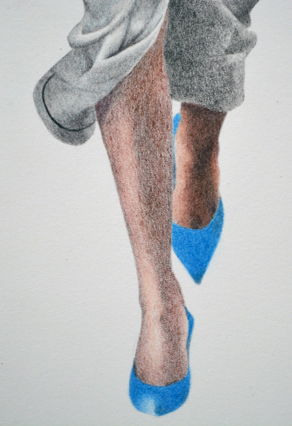 work in progress one leg blended